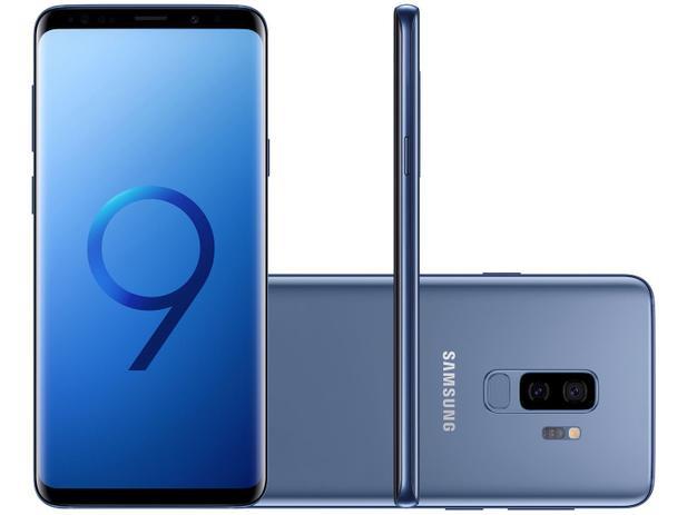 Imagem de Smartphone Samsung Galaxy S9+ 128GB Azul Dual Chip