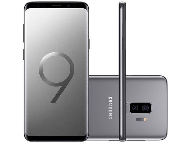 Imagem de Smartphone Samsung Galaxy S9+ 128GB Cinza 4G