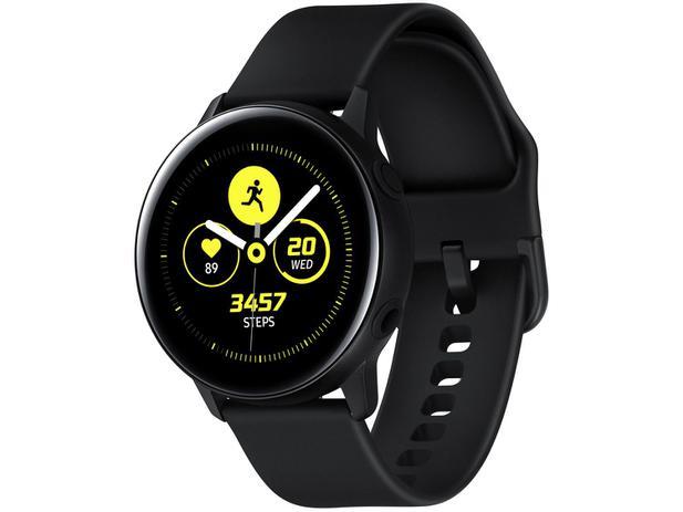 Imagem de Smartwatch Samsung Galaxy Watch Active Preto