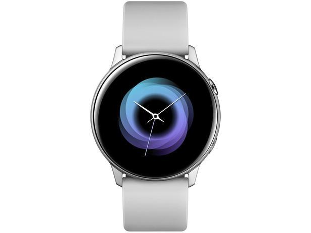 Smartwatch Samsung Watch Active Galaxy - Prata 4GB