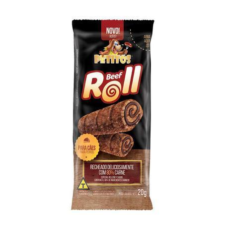 Imagem de Snack Petitos Beff Roll para Cães 20g