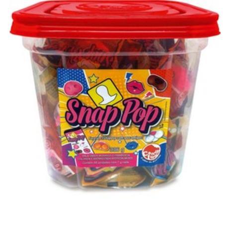 Imagem de Snap Pop Dtc Doce em formatos animados C/48 un 7g