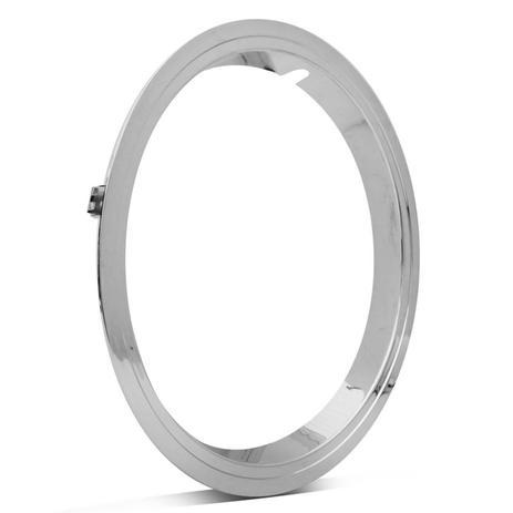 Imagem de Sobre Aro Cromado Universal Roda 14 Polegadas em Plastico ABS