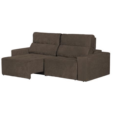 Sof 4 lugares roma retr til e reclin vel suede amassado for Sofa 4 lugares retratil e reclinavel caravaggio suede amassado marrom