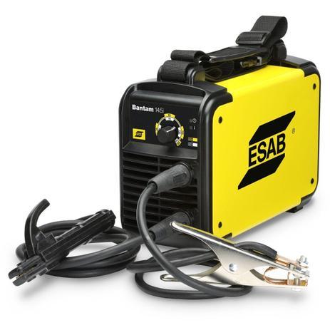 Imagem de Solda Inversora 145i Bantan Bivolt Automática 110/220V ESAB + Brinde 1 Touca p/ Soldador