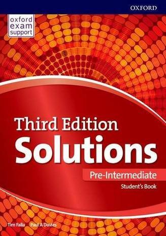 Imagem de Solutions - Pre-intermediate - Students Book - 03 Ed