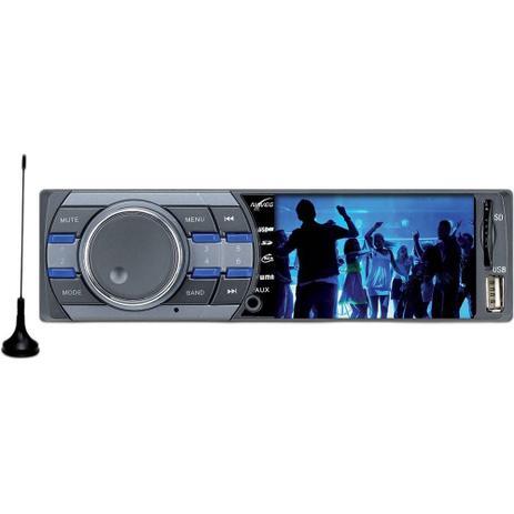 Imagem de Som Automotivo NVS3079TV Naveg com Tela de 3, TV Digital, Rádio FM, Entrada USB e Entrada para Cartão SD