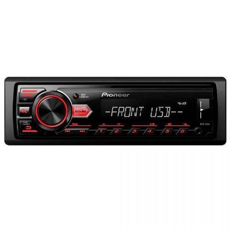 Imagem de Som Automotivo Pioneer MVH-98UB MP3 Player Rádio AM/FM Entrada USB e Auxiliar