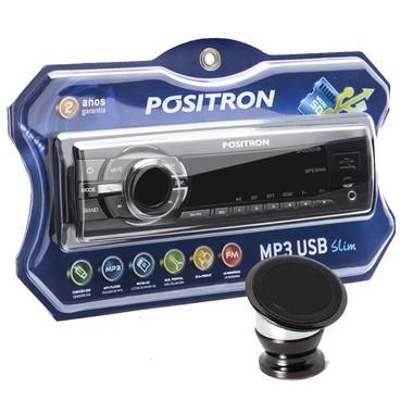 Imagem de Som Positron 2210 com Suporte Magnetico para celular