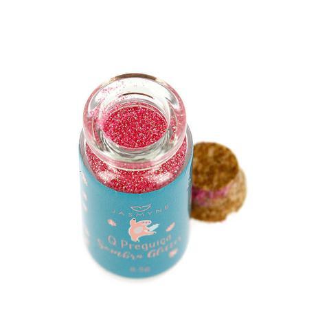 Imagem de Sombra Glitter Purpurina Maquiagem Q Preguiça Rosa JS01028-5 Jasmyne