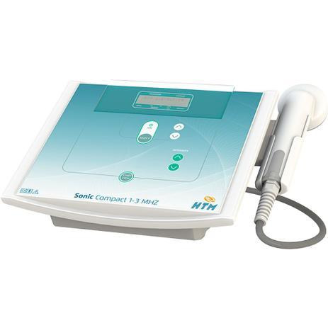 Imagem de Sonic Compact 1 E 3 Mhz Htm - Aparelho De Ultrassom para Fisioterapia e Estética