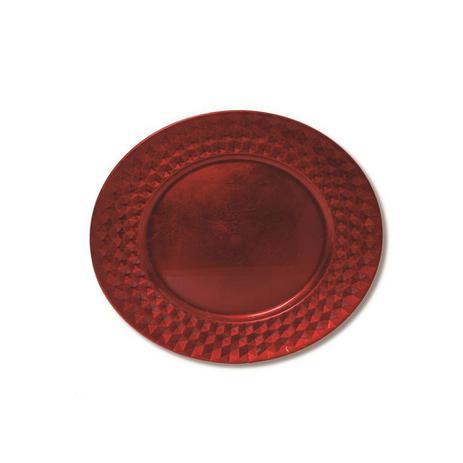 8bf6c6d7508 Sousplat Mesa de Natal Vermelho 4 x 33 cm Vermelho - Cromus ...