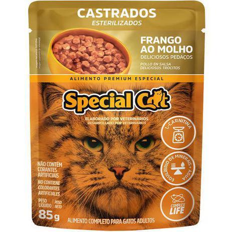Imagem de Special Cat Sache Castrado Frango Ao Molho - 85 Gr