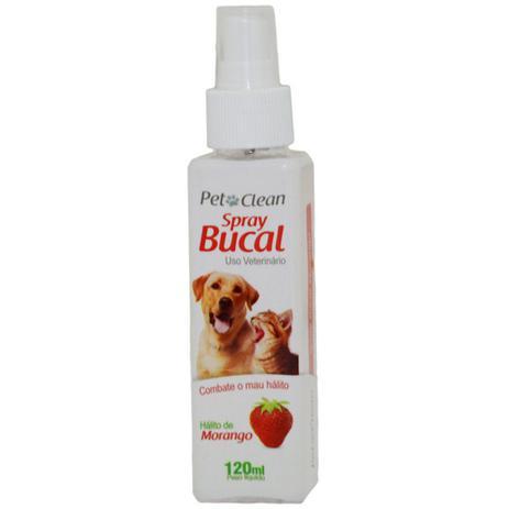 Imagem de Spray Bucal Pet Clean Sabor Morango Para Cães E Gatos - 120 Ml