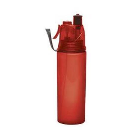 Imagem de Squeeze com Borrifador 600 ml Vermelho