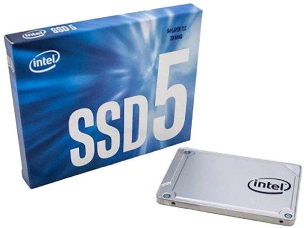 Imagem de SSD 128GB Intel Interface Leituras 550MB/s