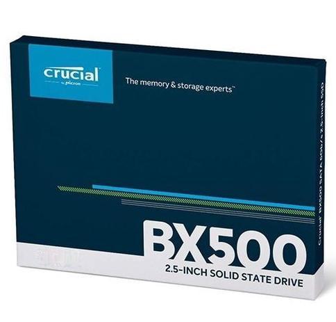 Imagem de Ssd 240gb Crucial Bx500 3d Nand Original Micron