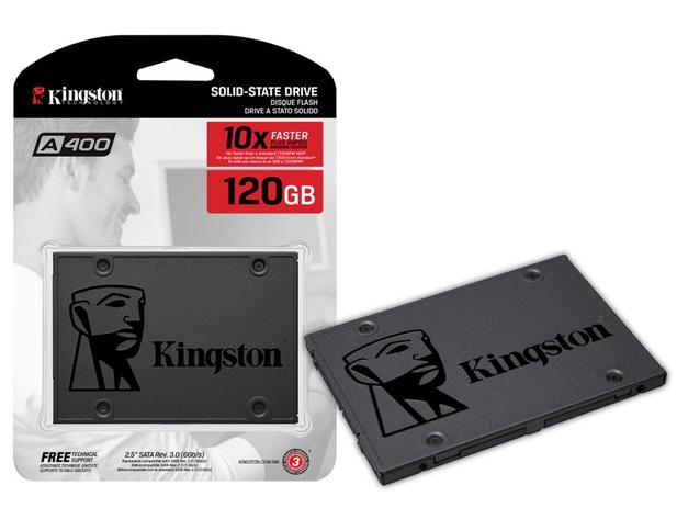 Imagem de Ssd Sata Desktop Notebook Kingston Sa400s37/120g A400 120gb 2.5 Sata Iii 6gb/S