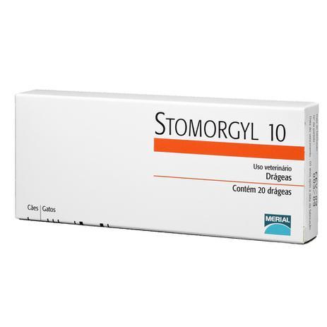 Imagem de Stomorgyl 10 Antibiótico Para Cães E Gatos 20 Comprimidos