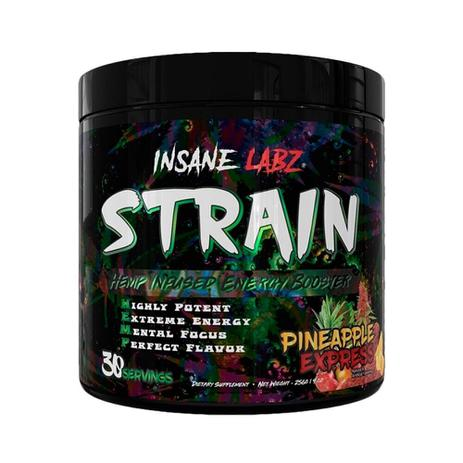 Strain Pré Treino Importad 35 doses Insane Lab - Fruit Punch - Insane labz