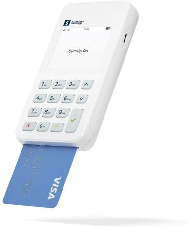 Imagem de SumUp On Maquininha De Cartão Wi-fi Chip 3G Não Precisa De Celular - CHIP VIVO - Pax