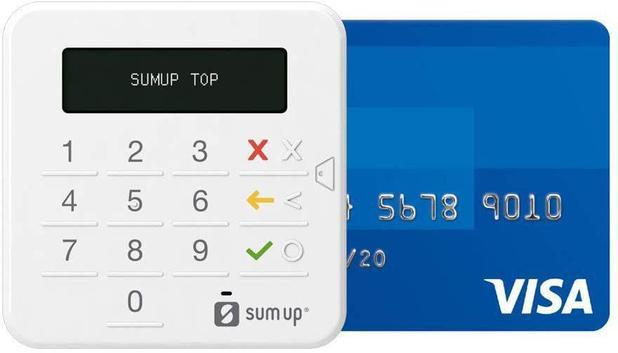Imagem de SumUp Top - Maquininha de Cartão