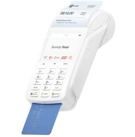 Imagem de SumUp Total Bobina A Maquininha De Cartão Sem Aluguel Wi-fi Chip 3G - Acompanha Chip da Vivo