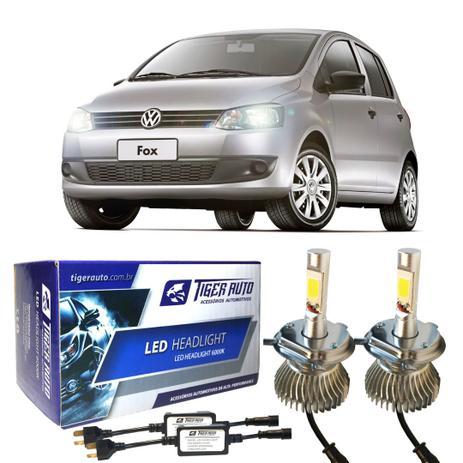 Imagem de Super Led H4 Kit C/ Chicote VW Fox F/Simples 03-09