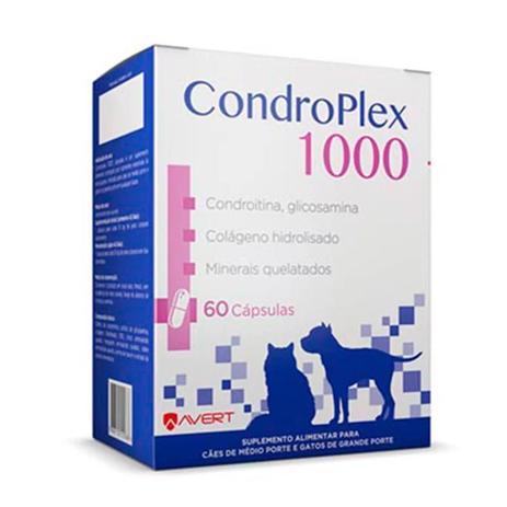 Imagem de Suplemento Condroplex 1000 Cães E Gatos C/60 Cápsulas