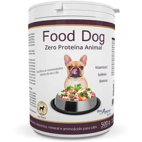 Imagem de Suplemento vitaminico food dog zero proteina animal 500g validade 05/21