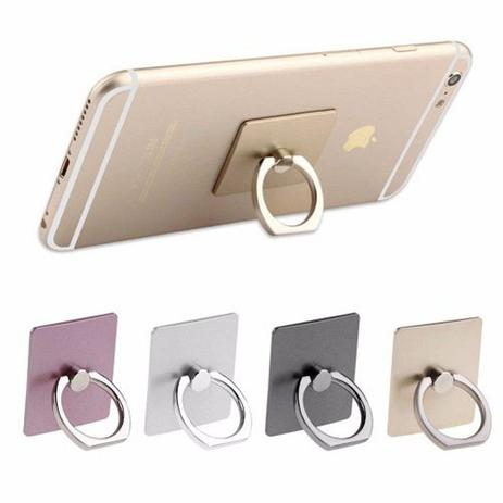 suporte anel ring com suporte hook para smartphone kit 6 pe as anti furto celular tablet ring. Black Bedroom Furniture Sets. Home Design Ideas