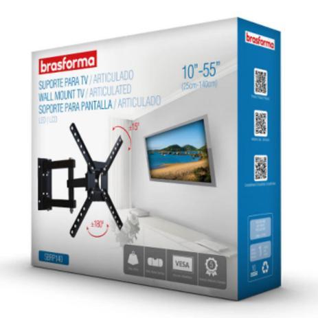 Imagem de Suporte Articulado Sbrp140 Para Tv Led,lcd E Smart Tv De 10