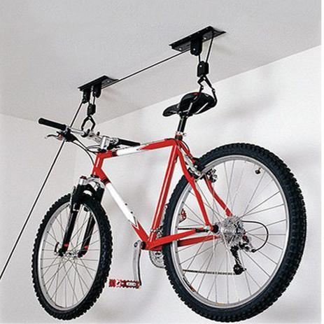 Imagem de Suporte de Bicicleta ou Caiaque - de Teto - Preto - Vertical