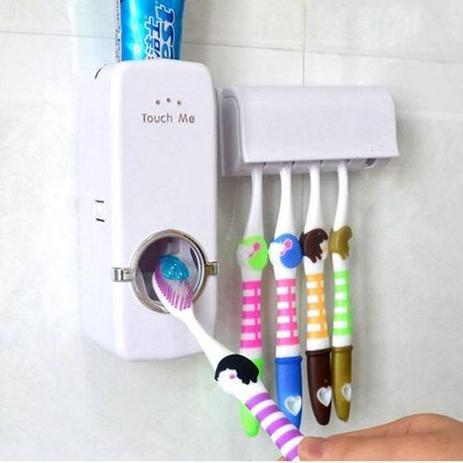 Imagem de Suporte Para Escova Dispenser De Pasta De Dente Automatico