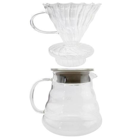 Imagem de Suporte para Filtro de Café com Jarro 2 A 3 Xícaras 650ml - Clink