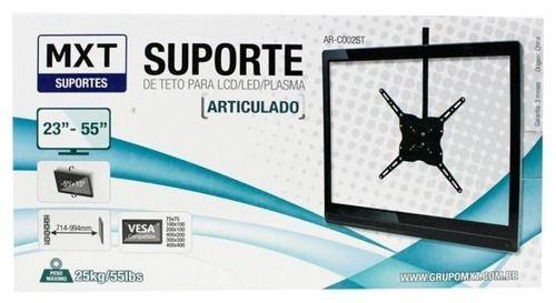 Imagem de Suporte Teto Tv Lcd Led Plasma 23 A 55'' Mxt Articulado 25kg 28 37 528