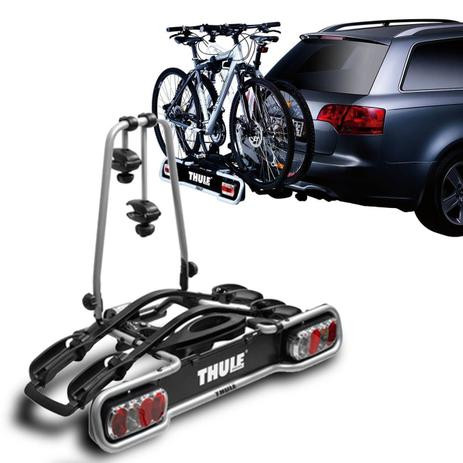 suporte transbike 2 bicicletas engate thule euroride 941. Black Bedroom Furniture Sets. Home Design Ideas