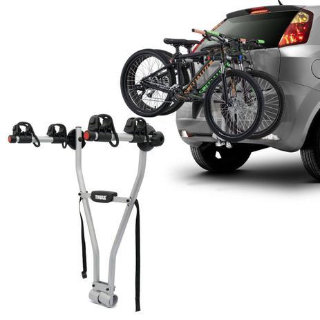 6495db9da Suporte Transbike 2 Bicicletas Engate Thule Xpress 970 Prata Suporta 30KG  Universal