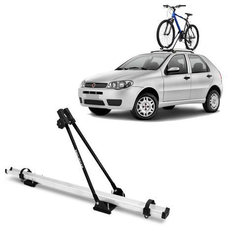 Imagem de Suporte Transbike Bicicleta para Rack de Teto Universal Branco e Preto com Capacidade Para 1 Bike