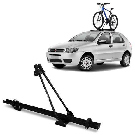 Imagem de Suporte Transbike de Bicicleta Para Rack de Teto Preto Capacidade Para 1 Bike Universal