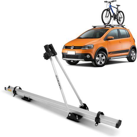 Imagem de Suporte Transbike de Bicicleta Rack de Teto Universal Projecar Prata 1 Bike