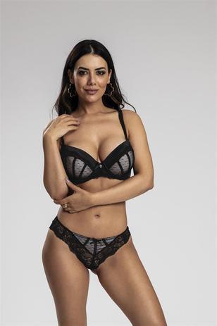 6f927235ae00d1 Sutia Recco de Tule C/ Renda - Recco lingerie