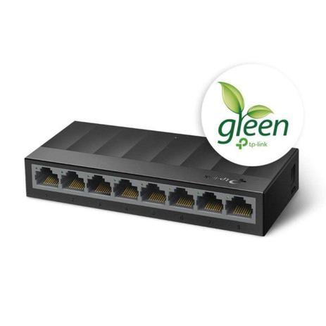 Imagem de Switch TP-LINK LS1008G (UN) 1.0 GIGABIT de Mesa de 8 Portas 10/100/1000MBPS - TPN0216