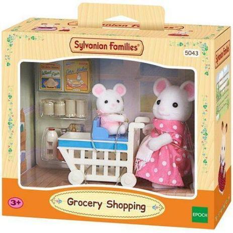 eec6049d8f Sylvanian Families Compras no Supermercado - Epoch Magia - Boneca ...