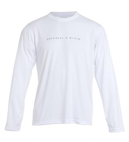 35d3e1f56c T-Shirt Dry Decote Careca Manga Longa Greatness Branco G Everlast ...