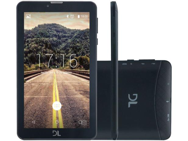 "Imagem de Tablet DL Mobi Tab 8GB 7"" 3G Wi-Fi"