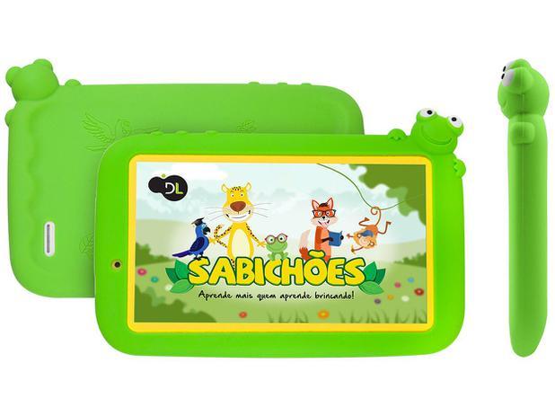 """Imagem de Tablet DL Sabichões 8GB 7"""" Android 7 Nougat"""