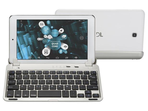 "Tablet DL X-Quad Note 8GB 7"" Wi-Fi Android 4.4 - Proc. Quad Core Câmera Integrada"
