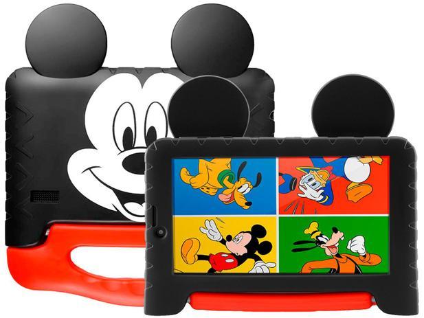 Imagem de Tablet Infantil Multilaser Mickey Plus com Capa