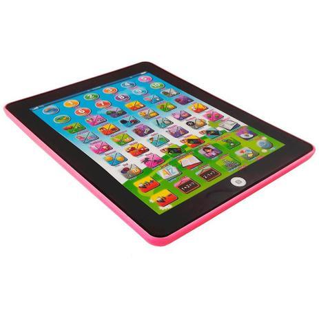 96b99af2014 Tablet Interativo Educativo Bilingue ROSA - Art brink - Tablet ...